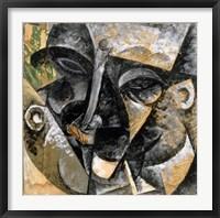 Framed Dynamism of Man's Head 1914