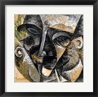 Framed Dynamism of Man's Head 1914