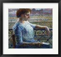 Framed Sister on the Balcony 1909