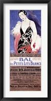 Framed Le Bal des Petits Lits Blancs 1922