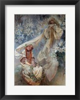 Framed Madonna of the Lilies, 1905