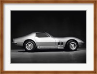 Framed Corvette Stingray
