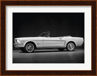Framed Ford Mustang Convertible, 1964