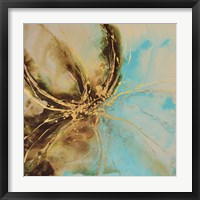 Framed Autumn Lotus I