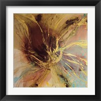 Framed Autumn Lotus II