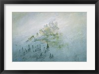 Framed Mountain in the Fog, Staatliche Museen Heidecksburg, Rudolstadt, Germany
