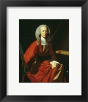 Framed Portrait of Judge Martin Howard, 1767