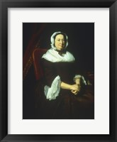 Framed Mrs Samuel Hill (Miriam Kilby) 1764