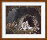 Framed Titania Sleeping, 1841