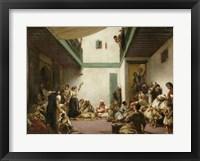 Framed Jewish Wedding in Morocco, 1839