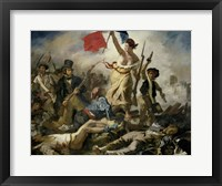 Framed Liberty Leading the People, 1830