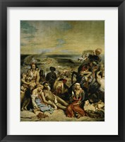 Framed Massacre of Chios Greek Families Waiting for Death or Slavery, 1824