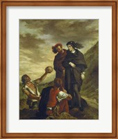 Framed Hamlet and Horatio in the Cemetery, 1839