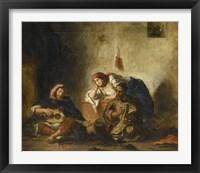 Framed Jewish Musicians from Mogador