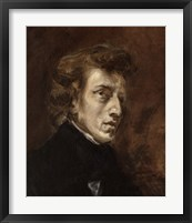 Framed Frederic Chopin, 1810-1849