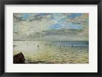Framed Sea Seen from Dieppe, c. 1852