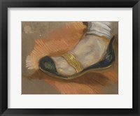 Framed Study of a Slipper, 1827-1828