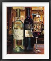 Framed Reflection of Wine II