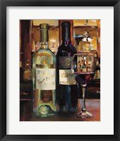 Framed Reflection of Wine II