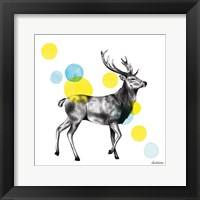 Framed Sketchbook Lodge Stag