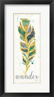 Waterfeathers II Framed Print