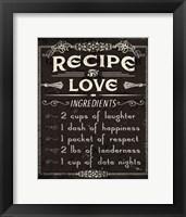 Framed Life Recipes I