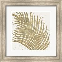 Framed Gold Leaves I