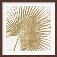 Framed Gold Leaves II