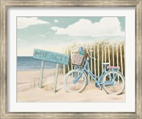Framed Beach Cruiser II Crop