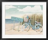 Framed Beach Cruiser II Crop