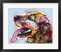 Framed Cocker Spaniel 1