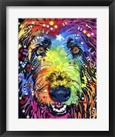 Framed Irish Wolfhound