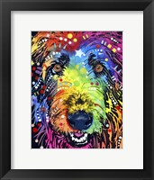 Framed Irish Wolfhound