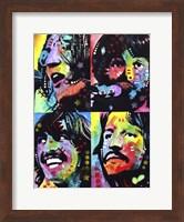 Framed Beatles