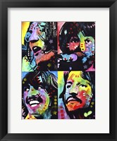Framed Beatles