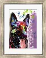 Framed German Shepherd 2