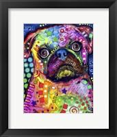 Framed Pug 92309