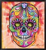 Framed Sugar Skull - Day of the Dead