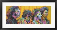 Framed Beatles Pano