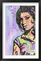 Framed Amy Winehouse