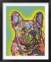 Framed French Bulldog III