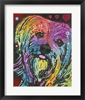 Framed Doggie Love