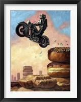 Framed Dark Rider Again