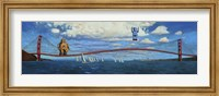 Framed Golden Gaters