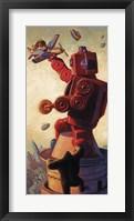 Framed Robo Kong