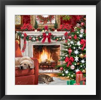Framed Christmas Pets