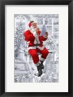 Framed Santas Workshop