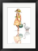 Framed Easter Goose 1