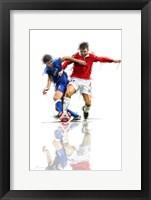 Framed Football Players 1