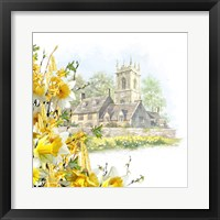 Framed Easter Scene